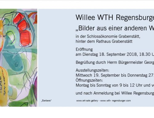 Ausstellung in der Schlossökonomie Grabenstätt